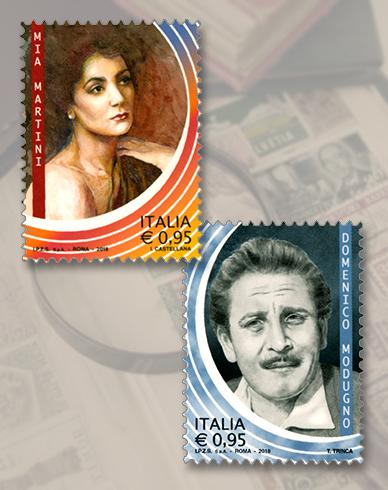 Mia Martini e Domenico Modugno