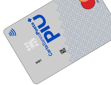 Carta di credito BancoPosta Più