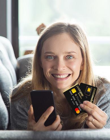 Acquista la tua Postepay Connect da App Postepay