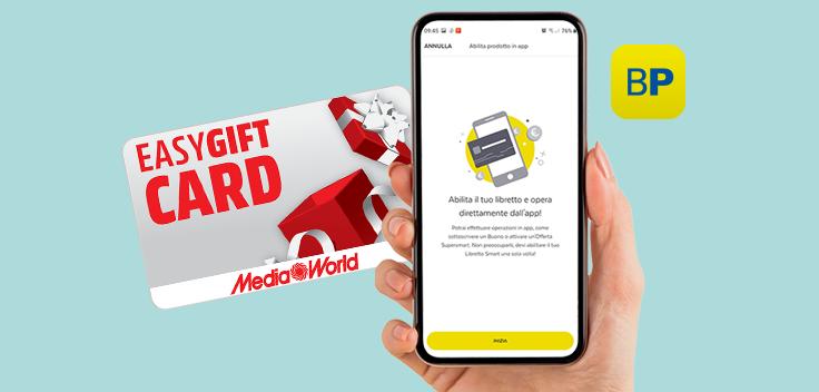 Abilita il tuo Libretto Smart in app
