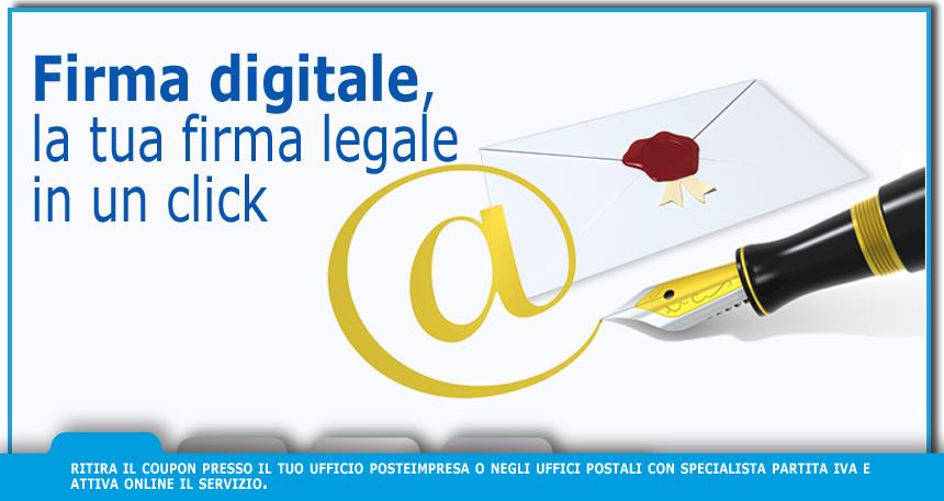 Firma Digitale Posteitaliane