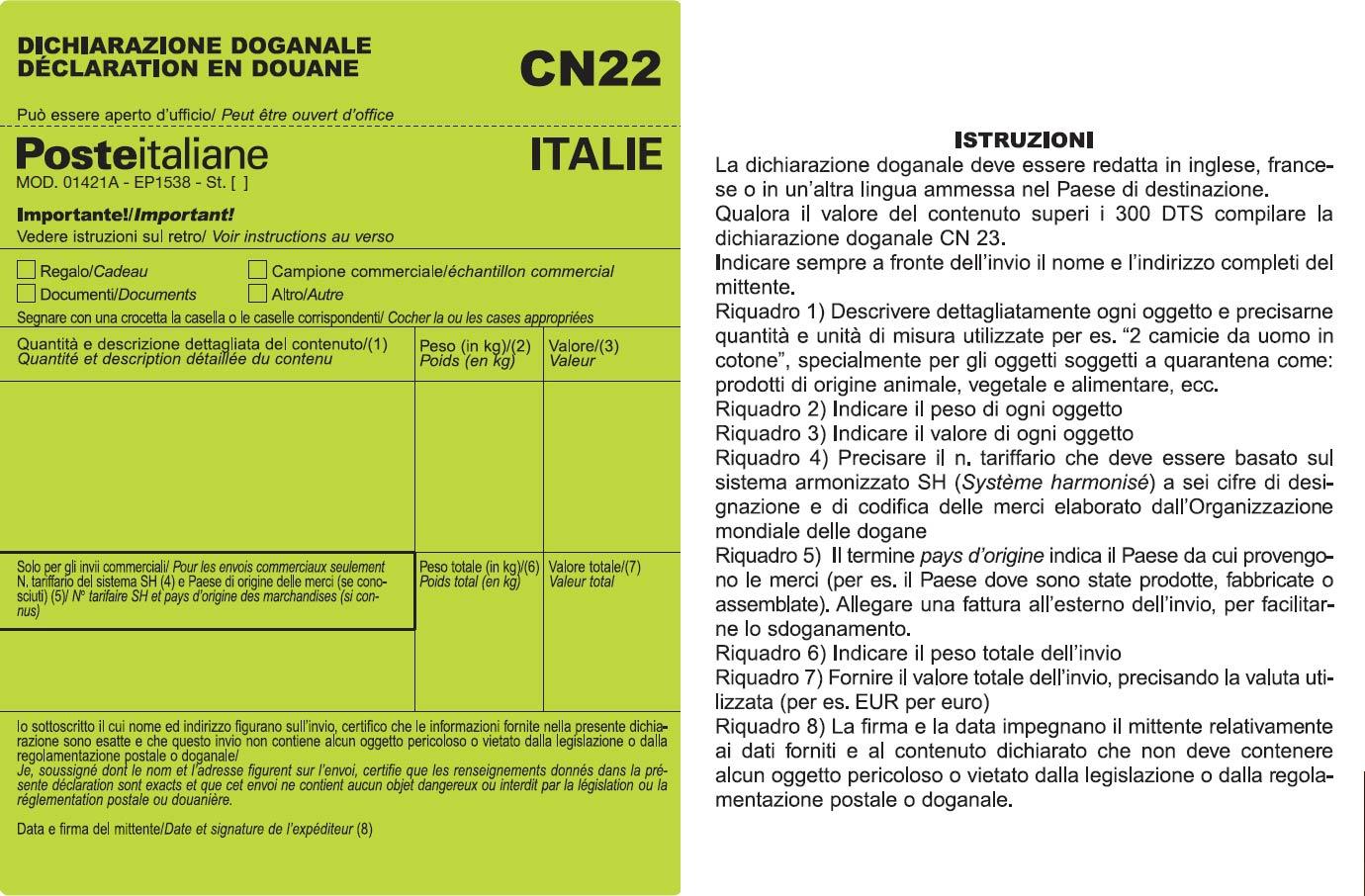 Cn22 e cn23 for Modelli di case italiane